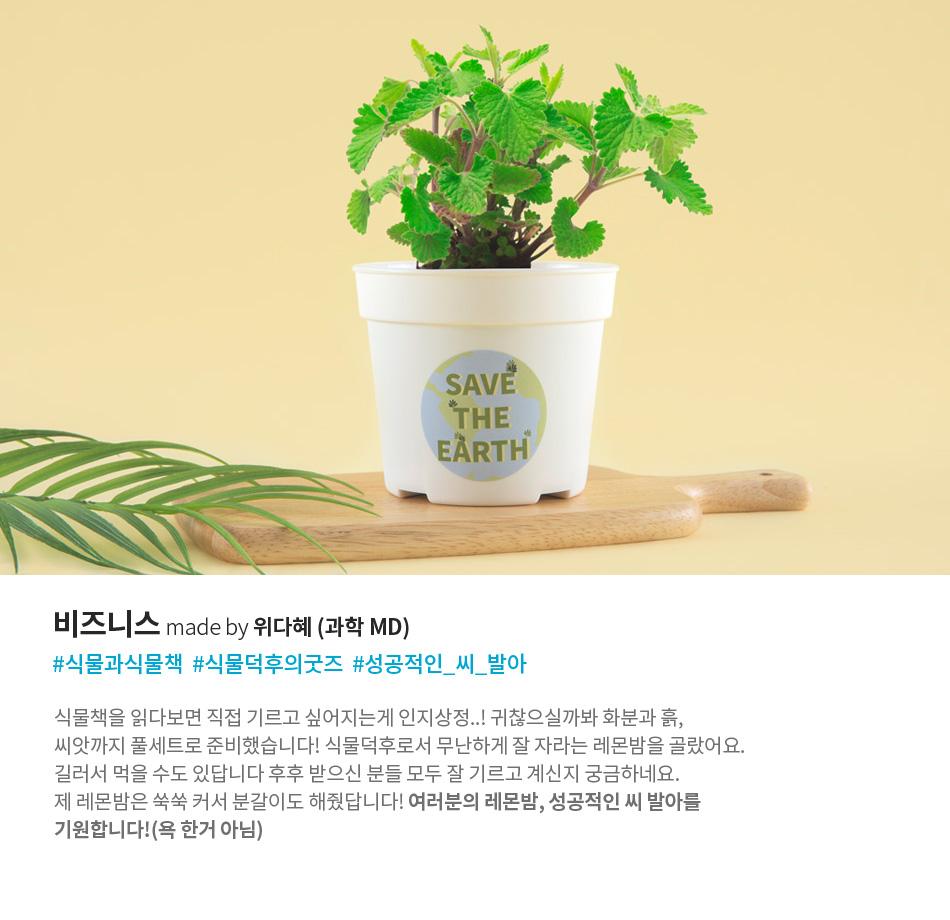 비즈니스 made by 위다혜 (과학 md) #식물과식물책  #식물덕후의굿즈  #성공적인_씨_발아
