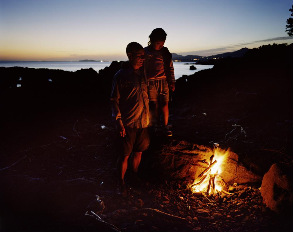 김옥선 'The campfire' 61×76cm 2008