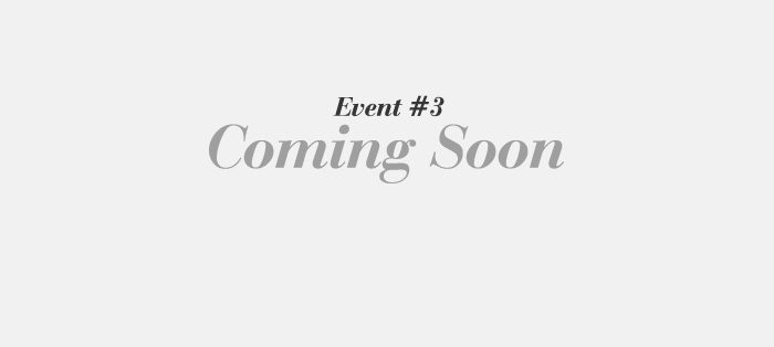 Event #3 Ending 선물 Coming Soon