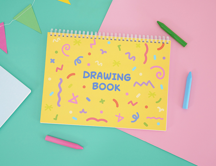 16절 어린이 스케치북