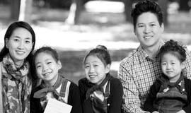 '아이들과 함께 꾸는 꿈' 아나운서 박찬민 씨 가족