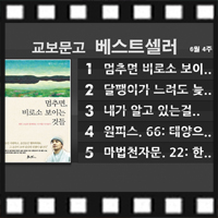 <6월 4주 베스트셀러> 만화 분야 인기『원피스. 66: 태양으로 이어지는 길』종합 4위