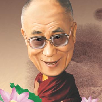 평화의 지도자 '달라이 라마'
