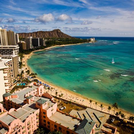 [아주 특별한 여행지도] 여름휴가 추천 여행지 4. 연인과 함께하는 여행지 '하와이'