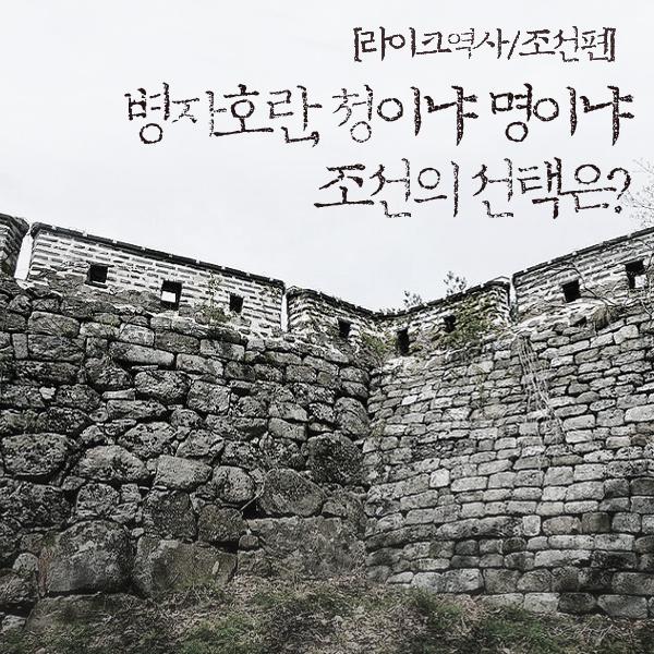 [라이크역사] 19. 병자호란, 명이냐 청이냐 기로에 서다