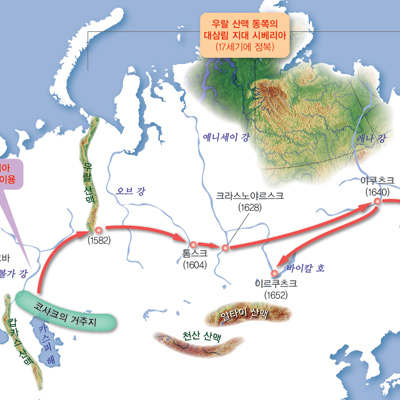 [세계사 도감] 10. 바이킹이 러시아의 여러 하천을 연결해 이슬람 상인과 교역