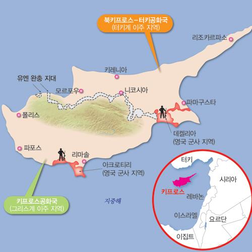 [세계민족 도감] 8. 키프로스에서 대립하는 그리스와 터키
