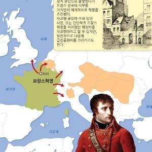 [전쟁사 도감] 4. 나폴레옹 전쟁-프랑스 혁명사상을 내세워 유럽 통일에 나선 나폴레옹