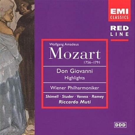 Don Giovanni / MUTI (돈죠반니) [수입] 새것같은 개봉 * 빈 필 / 무티/ Shimell, Studer, Vaness, Ramey