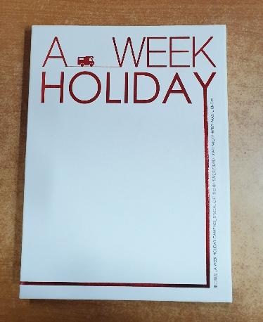 A WEEK HOLIDAY-CAMPING 동방신기 2008 화보집 [초회 한정 DVD포함반]