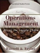 Operations and Supply Chain Management (6th Edition, Paperback) #