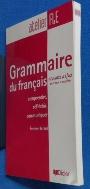 Grammaire du francais Niveau A1/A2 /사진의 제품  ☞ 서고위치:RQ 5  * [구매하시면 품절로 표기됩니다]