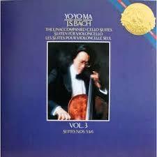 Yo-Yo Ma ? J.S Bach The Unaccompanied Cello Suites Vol. 3  ///LP1