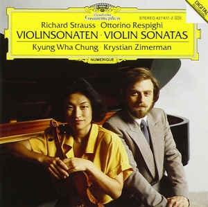 R.Strauss-Ottorino Respighi Violin Sonatas
