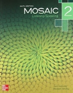 Mosaic 2: Listening/Speaking Student Book (6th)