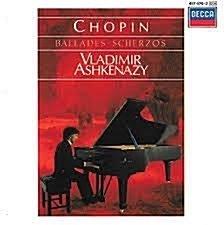 Vladimir Ashkenazy / Chopin : Ballades & Scherzos (수입/4174742)