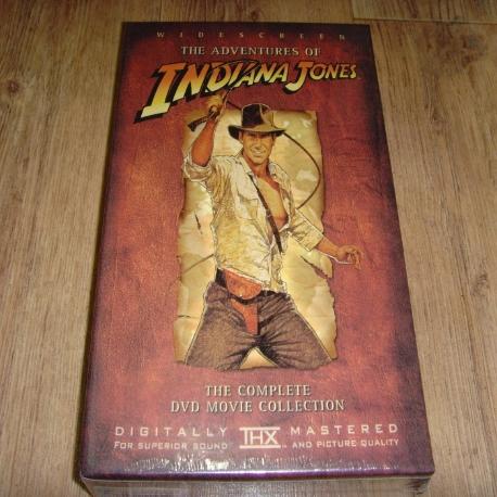 인디아나 존스 박스세트 [THE ADVENTURES OF INDIANA JONES] [12년 12월 재출시] 새상품 입니다.