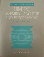 IBM PC Assembly Language and Programming 4th Edition, paperback