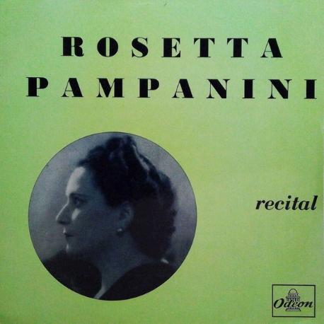 [수입][LP] Rosetta Pampanini - Recital [10˝]