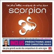 [미개봉 CD] Les Plus Belles musiques de votre signe : Scorpion