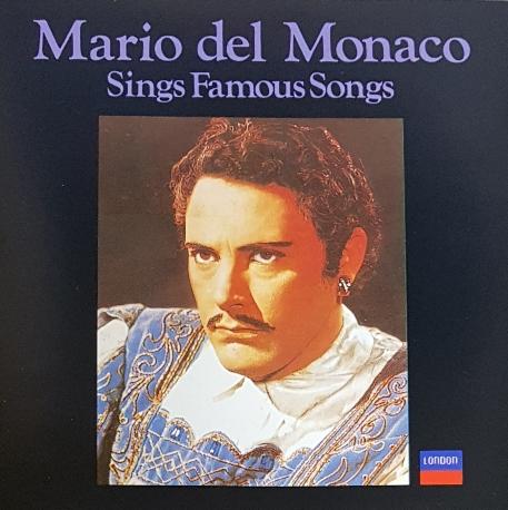 [일본반] Mario del Monaco - Sings Famous Songs