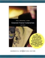 Corporate Finance Fundamentals 8th Edition