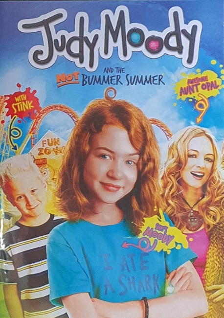 Judy Moody and the Not Bummer Summer (해외직구 상품이라 한글자막이 없고 대신 영어자막이 있습니다.)