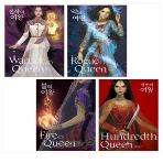 백 번째 여왕, 불의 여왕, 악의 여왕, 전사의 여왕 - 칼린다 시리즈 풀 세트