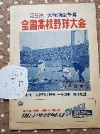 전국고교야구대회(제5회대통령배쟁탈)1971년 고교야구 최고인기 플래너대한야구협회