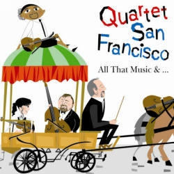 [중고] Quartet San Francisco / All That Music &...