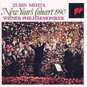 Zubin Mehta / 1990년 신년 음악회 (New Year's Concert 1990) (CCK7055)