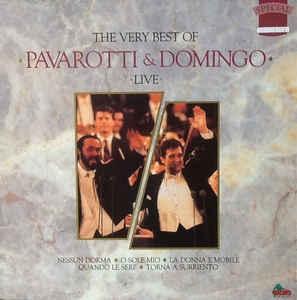 The Very Best Of Pavarotti & Domingo Live (수입/DIN163D)