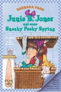 JUNIE B. JONES AND SOME SNEAKY PEEKY SPYING 중상급 / 낙서 없음
