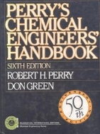 perry's chemical engineers-SIXTH EDITION.영어원서