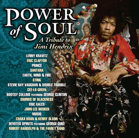V.A. / A Tribute To Jimi Hendrix : Power Of Soul