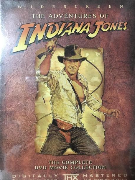 인디아나 존스 박스세트 [THE ADVENTURES OF INDIANA JONES] 미개봉 새상품 입니다.