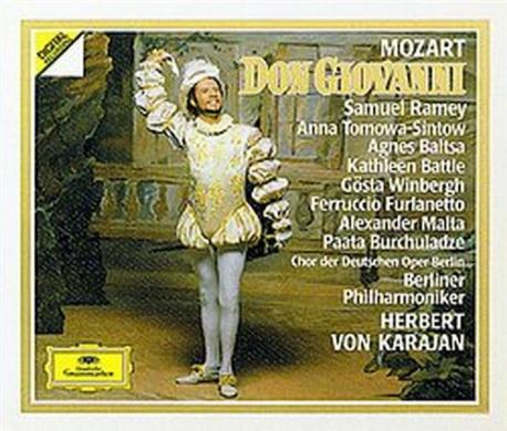 [수입] Herbert Von Karajan - 모차르트 : 돈 죠반니 (Mozart : Don Giovanni) (3CD)