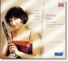 [중고] Sharon Kam / Bartholdy & Spohr & Rossini & Weber : Works For Clarinet & Orchestra (수입/Digipack/0017792BC)