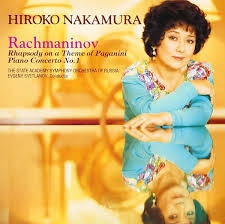 Hroko Nakamura, ~/ Rachmaninov : Paganini Rhapsody & Piano Conceto No. 1 (일본수입/SRCR2509)