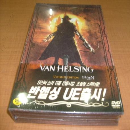 [랩핑 새것 DVD] 반 헬싱 디지팩 (2disc) - UE