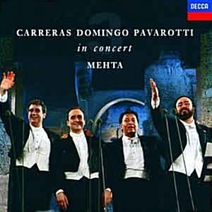 [수입] Jose Carreras / Placido Domingo / Luciano Pavarotti - 3 테너 콘서트 (Three Tenors Concert 1990)