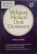 Medical Desk Dictionary (Hardcover) / 겉커버지(양장본) 없슴