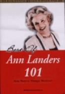 Best Of Ann Landers 101 (부록TAPE 3개포함)