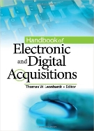 Handbook of Electronic and Digital Acquisitions  (ISBN : 9780789022912)