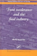 Food Intolerance and the Food Industry (ISBN : 9781855734975 = 9780849308536)