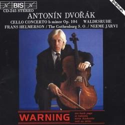 Frans Helmerson, Neeme Jarvi / 드보르작 : 첼로 협주곡, 숲의 고요함 (Dvorak : Cello Concerto Op.104, Waldesruhe) (SKCLD0169)