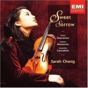 장영주 (Sarah Chang) / 눈물의 샤콘느 (Sweet Sorrow) (EKPD0460) (B)
