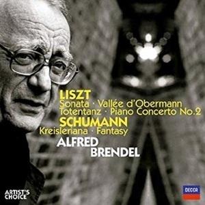 Alfred Brendel / 리스트 : 피아노 소나타, 피아노 협주곡 2번 & 슈만 : 크라이슬레리아나, 환상곡 (2CD/수입/4757188)