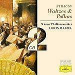 쉬트라우스 : 왈츠와 폴카 Polkas & Waltzes Strauss 로린 마젤 (Lorin Maazel) 2CDs