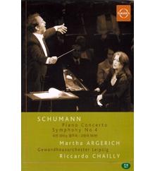 Schumann : Piano Concerto & Symphony No.4 (미개봉/ekdv001)